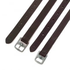 Stirrup Leathers - Pre-Stitched Stirrup Leathers Brown