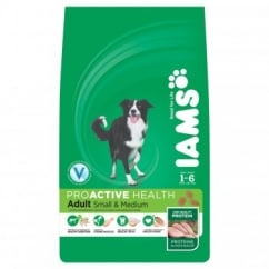 Small/Medium Breed Complete Adult Dog Food with Chicken