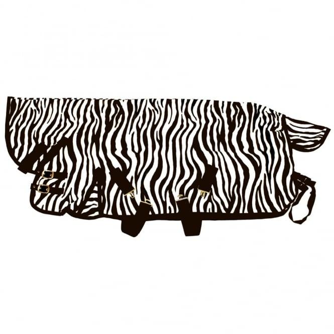Zebra Pattern Horse Rug: IV Horse Zebra Print Fly Rug