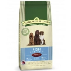 Adult Fish & Rice Complete Dog Food
