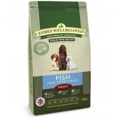 Adult Fish & Vegetable Complete Dog Food