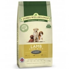 Adult Lamb & Rice Light Complete Dog Food