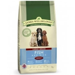 Adult Large Breed Fish & Rice Complete Dog Food