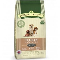 Adult Turkey & Rice Light Complete Dog Food