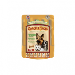 CrackerJacks Dog Treats 225g - Turkey & Rice
