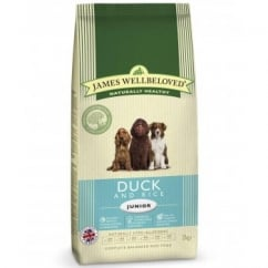 Junior Duck & Rice Complete Dog Food