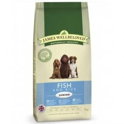 Junior Fish & Rice Complete Dog Food