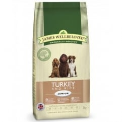 Junior Turkey & Rice Complete Dog Food