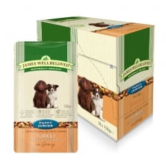 Puppy / Junior Turkey With Rice & Veg 10x150g Pouches