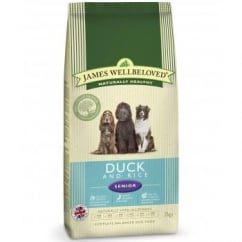 Senior Duck & Rice Complete Dog Food