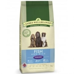 Senior Fish & Rice Complete Dog Food