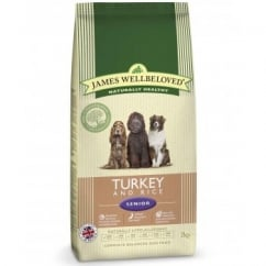 Senior Turkey & Rice Complete Dog Food