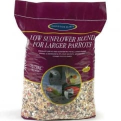 Johnston & Jeff Low Sunflower Mix For Larger Parrots 12.75Kg
