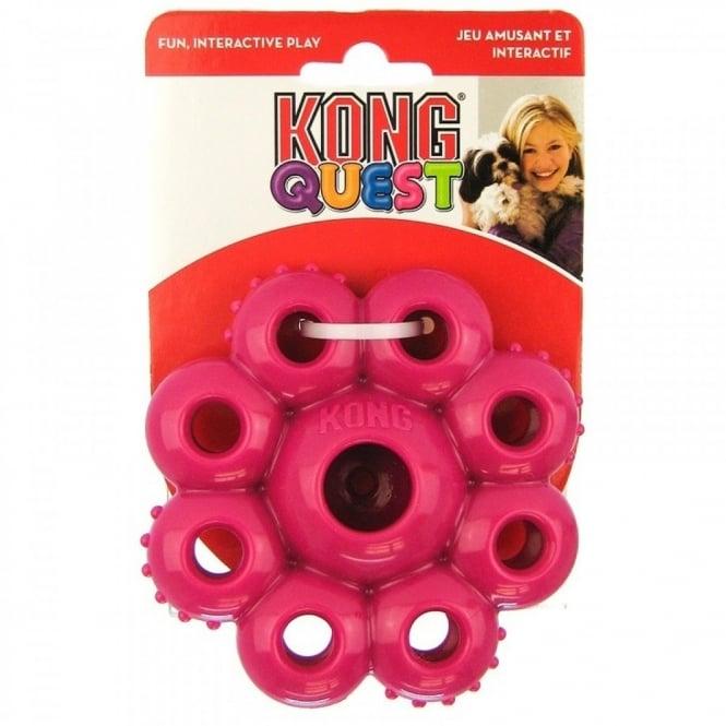 quest star pod treat dispensing dog toy