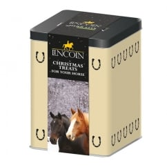 Christmas Horse Treat Tin With Herb Stix 750g