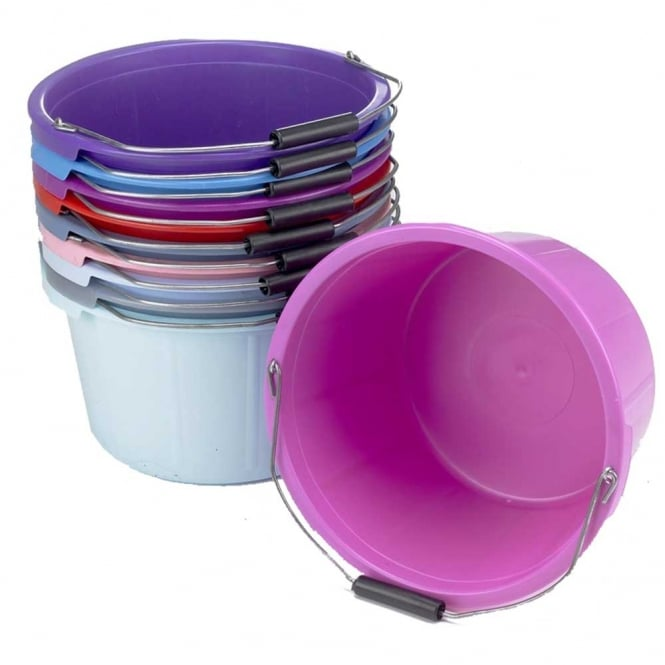 Lincoln Coloured Equestrian Feed Bucket