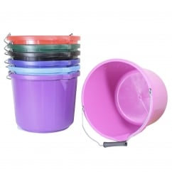 Equestrian Coloured Water Bucket