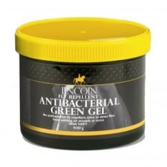 Fly Repellent Antibacterial Green Gel for Horse Wounds 400g