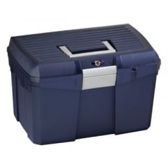 Tack Box / Grooming Box Navy Blue