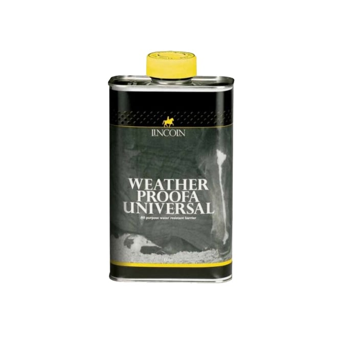 Lincoln Weather Proofa Universal 1Ltr - Horse Rug Waterproofing