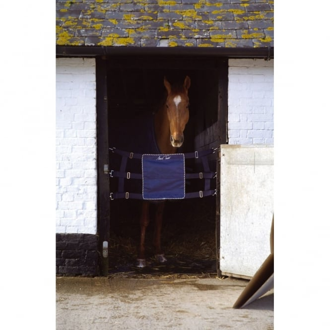 Mark Todd Competition Horse Stall Guard Navy/Silver
