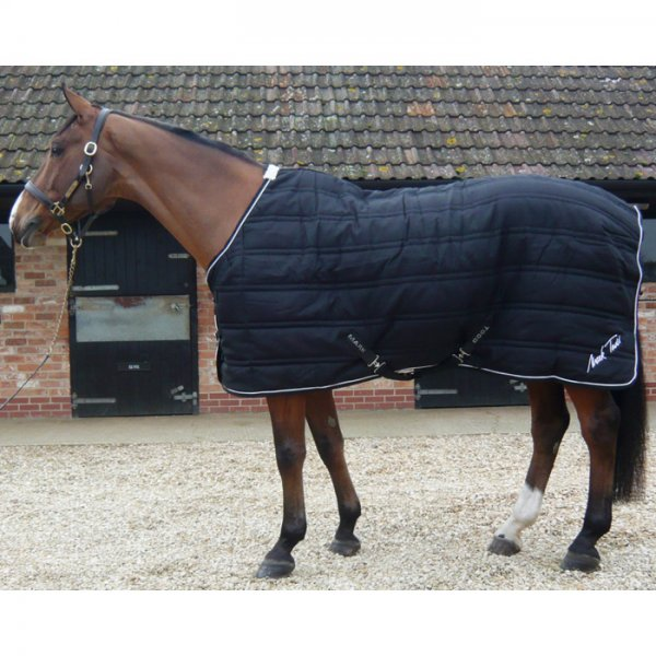 217f5041cdf2 Lightweight Stable Rug Black  amp  White - Previous Season - Reduced