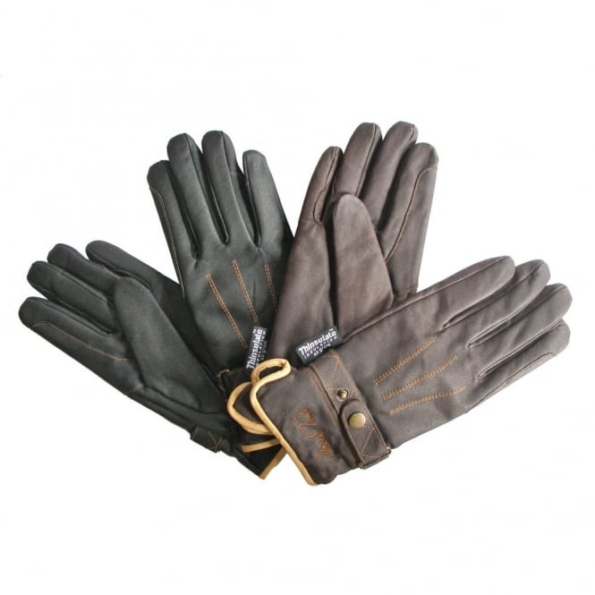 Mark Todd Winter Gloves With Thinsulate Brown