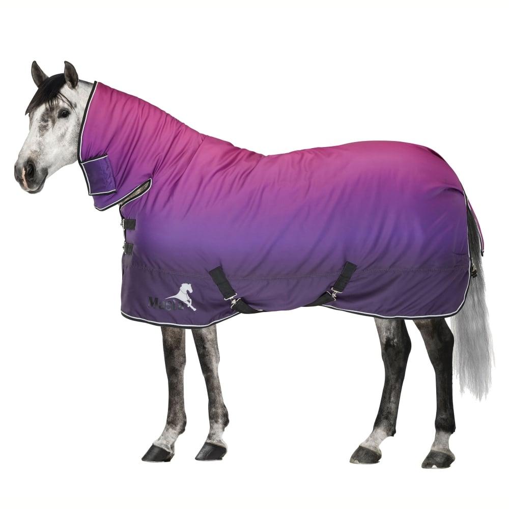 Neck Heavy Turnout Rug Purple Dip Dye