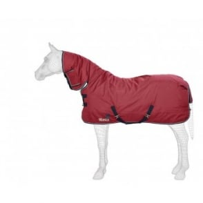 Masta Avante 340 Fixed Neck Heavy Turnout Rug Burgundy