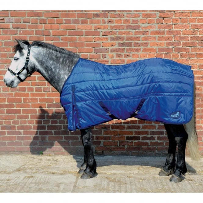 Masta Basic 100g Standard Neck Stable Rug Blue