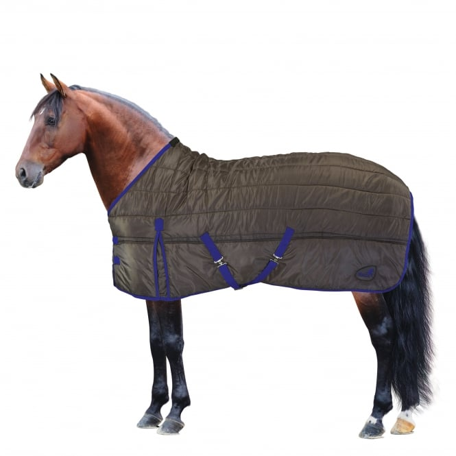 Masta Basics 200G Medium Stable Rug Brown & Blue