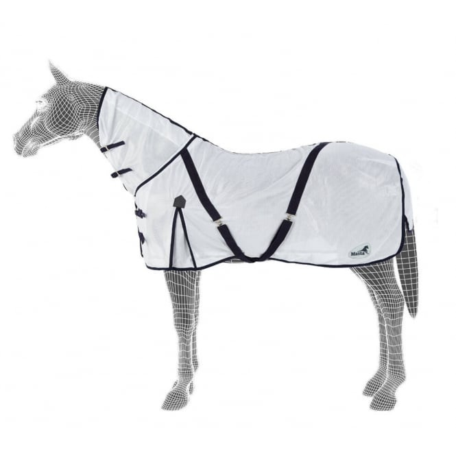 Masta Zing Fixed Neck Fly Rug White