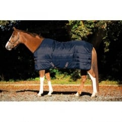 Insulator 150g Medium Stable Rug – Navy With Tan