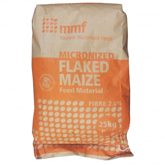 mmf Micronized Flaked Maize 25Kg Livestock Feed