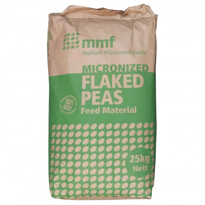 mmf Micronized Flaked Peas 25Kg Livestock Feed