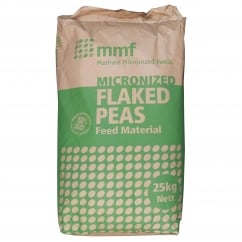 Micronized Flaked Peas 25Kg Livestock Feed