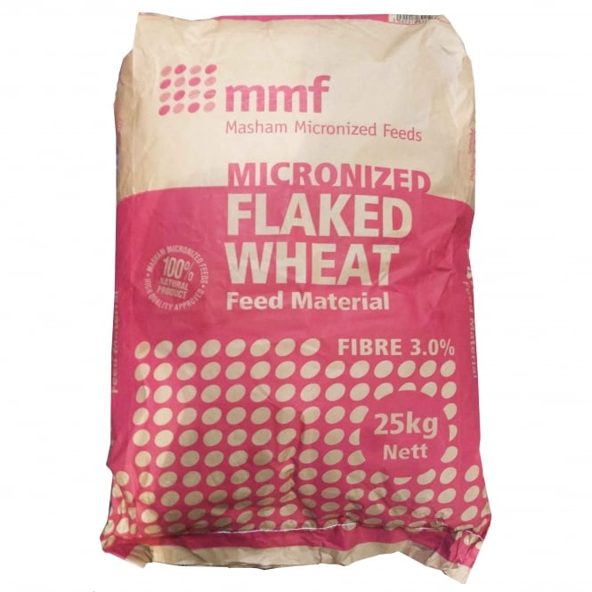 mmf Micronized Flaked Wheat 25Kg Livestock Feed