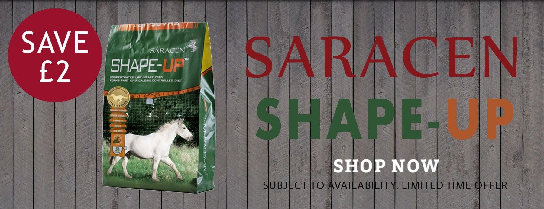 Saracen Shape Up Offer