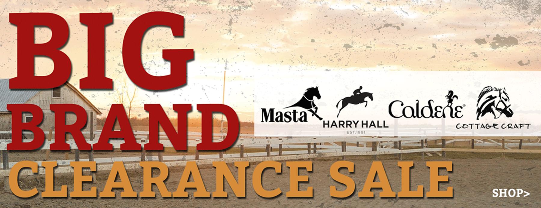 Big Brand Clearance Sale
