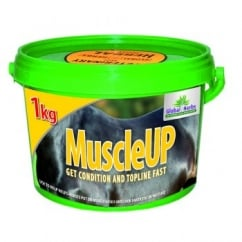 Global Herbs Muscle Up - Horse Supplement 1Kg