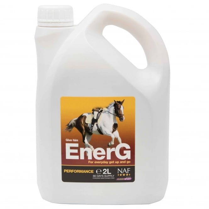 NAF EnerG 2Ltr - Liquid Energy Formula For Horses