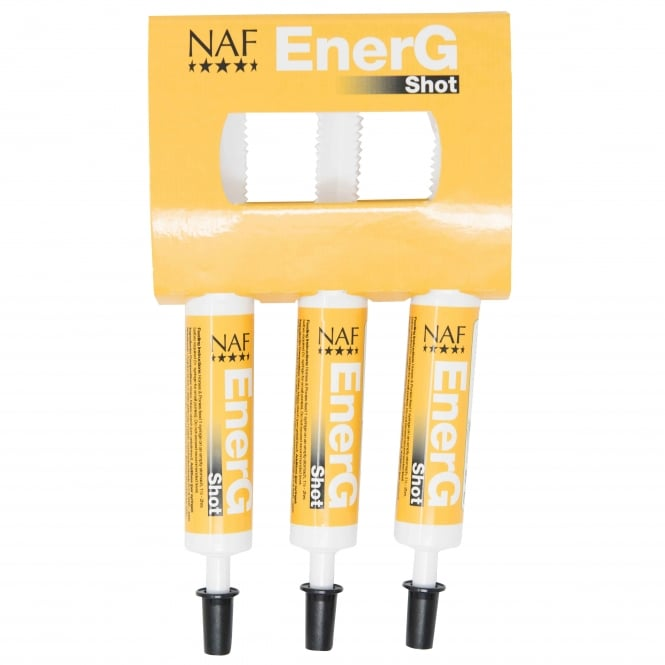 NAF EnerG Shot 3 x 30ml - Horse Supplement