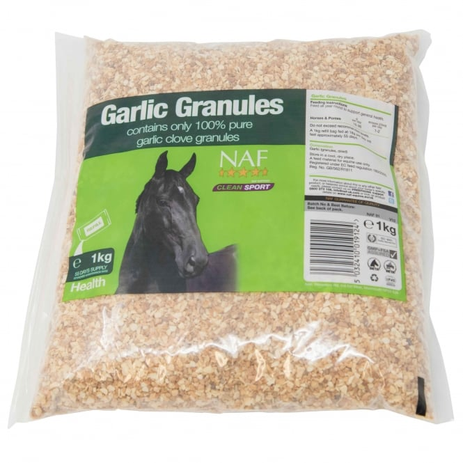 NAF Garlic Granules - Horse Supplement Refill