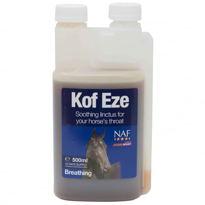 NAF Kof-Eze 500ml - Horse Supplement