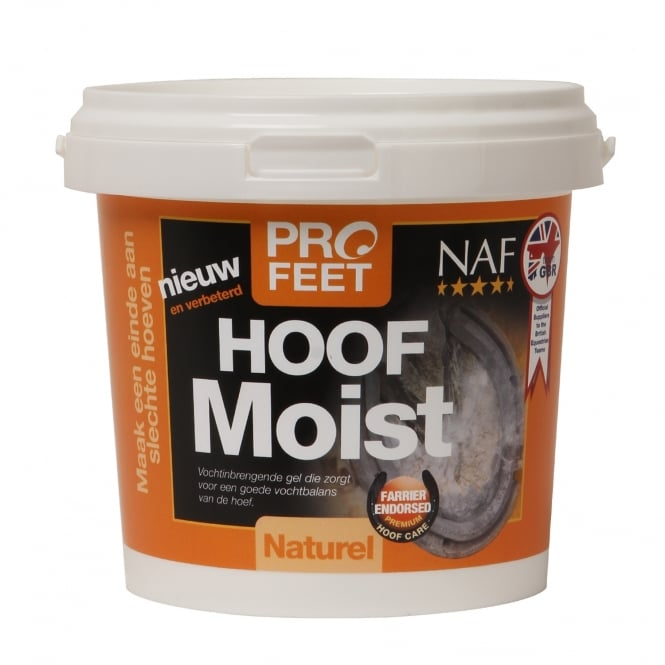NAF Pro Feet Hoof Moist Cream 900g - Black