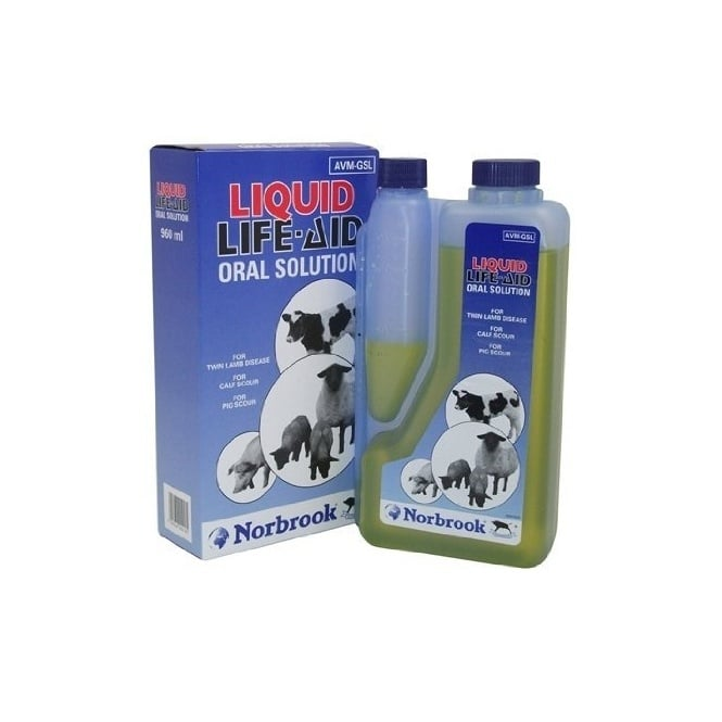 Norbrook Liquid Life-Aid 960ml - For Calves, Pigs, Lambs, Ewes