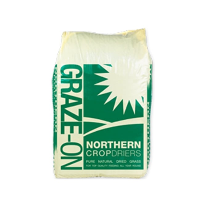 Northern Crop Driers Graze-On 15Kg - Horse Feed/Forage