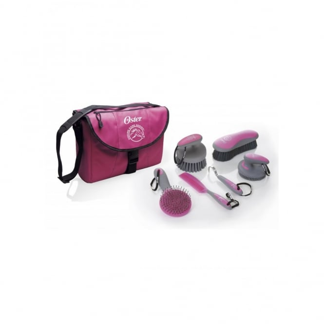 Oster 7 Peice Grooming Kit Pink