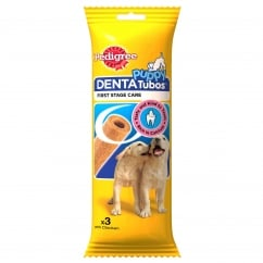 Puppy Denta Tubos 3 Pack 72g