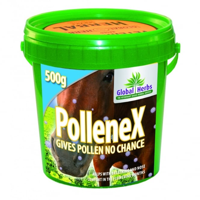 Global Herbs Pollene-X Powder 500g - Horse Supplement